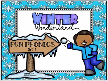 Fun Phonics Winter Wonderland Set 1