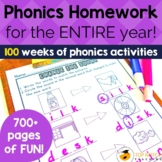 Fun Phonics Homework to Last the Whole Year