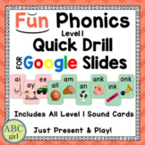 Fun Phonics Level 1 Distance Learning Keyword Quick Drill