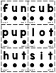 """1st Grade FUNDATIONS Level 1 """"Tap It Out"""" Flash Cards"""