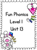 Fun Phonics Level 1 Unit 13