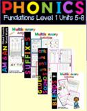 Level 1 Units 5-8 Activity Packs Bundle