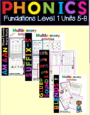 Level 1 Units 5-8 Activity Packs Bundle