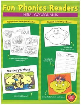 Fun Phonics Readers: Initial Consonants