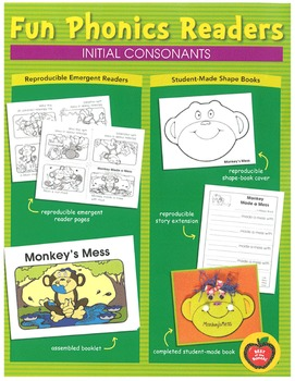 Fun Phonics Readers: Initial Consonants