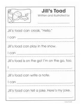Fun Phonics Readers: Long Vowels Reproducible Emergent Readers and Shape Books
