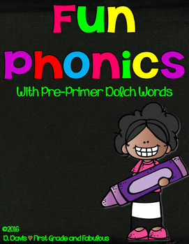 Fun Phonics-With Pre-Primer Dolch Words