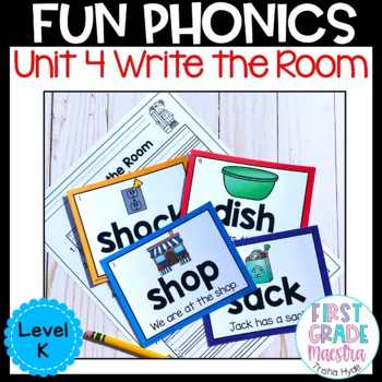 Write the Room Digraph Level K Unit 4