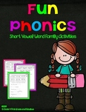 Fun Phonics with Short Vowel Word Families