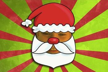 Fun Photo Booth Effect: Turn into Santa (Santafy yourself)
