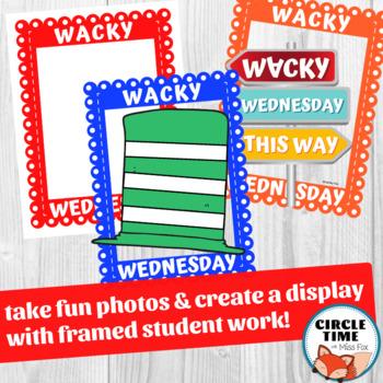 Fun Photo Booth Props! Wacky Wednesday Activities