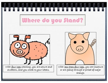 Fun Pig Personality Icebreaker PPT