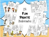 Fun Pirate Bookmarks