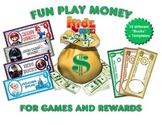 Fun Play Money / with Dollar Templates