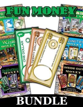 Fun Play Money Bundle (13 Sets)