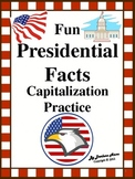 Fun Presidential Facts Capitalization Practice