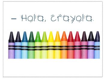 Fun Printable Spanish Rhymes/Rimas/Greetings/Saludos and F