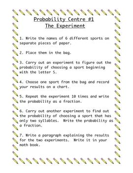 Fun Probability Centers