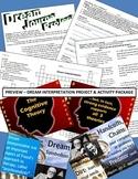 Psychology or English - Fun Activity Package - Dream Interpretation!