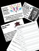Psychology - Fun Activity - Inkblots! Mini-Rorschach Test