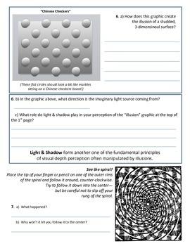 Psychology - Fun Activity - Optical Illusions!