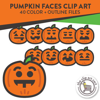 Fun Pumpkin Clip Art