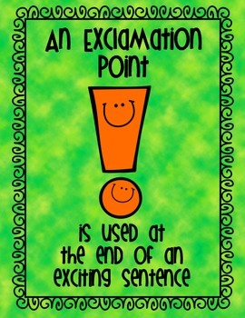 Fun Punctuation Posters!!