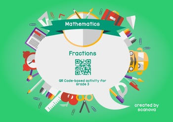 Fun QR Code Math Activity (Fractions)