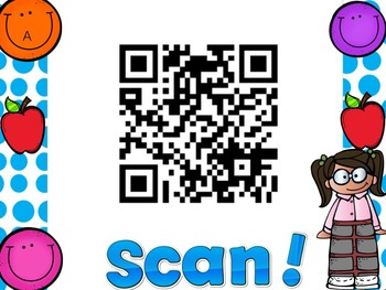 Fun QR codes to decorate your classroom.