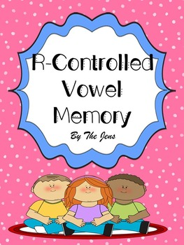 R-Controlled Vowels Memory  (***BONUS Bingo***)