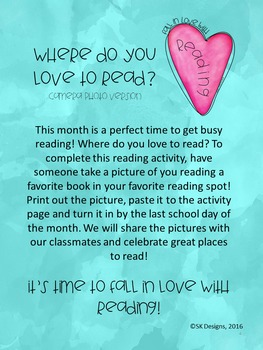 Fun Free Reading Activity to Encourage Sharing, Enjoying, Connecting With Books