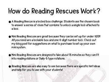 Fun Reading Comprehension Activity- Reading Rescue: A Bad Case of the Stripes
