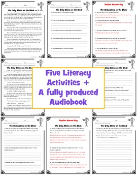 #2 Fun Reading Comprehension Passage and Questions + Crazy Audiobook #2