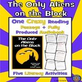 Halloween Reading Comprehension: Halloween Reading Activity: Aliens Audiobook