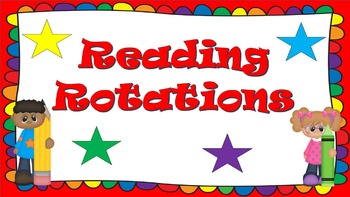 Fun Reading Rotation Power Point