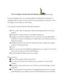 Fun Research Writing