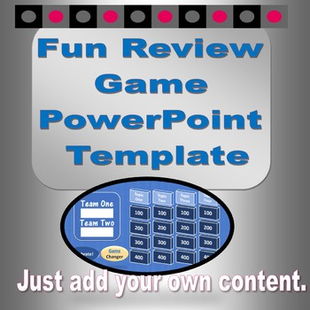 Fun Review Game PowerPoint Template
