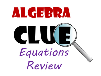 Fun Review Games Bundle for Algebra 1