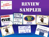 Fun Review Games Bundle for Algebra 1