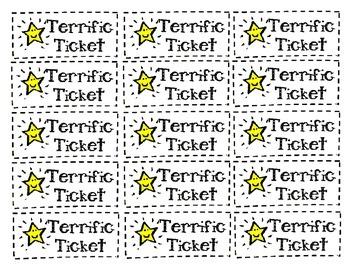 Fun Reward Coupons and Terrific Tickets