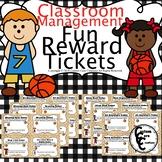 Fun Rewards Ticket Basketball Version (Classroom Management)