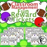 Fun Rewards Ticket Football Version (Classroom Management)