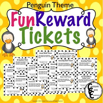 Fun Rewards Ticket Penguins