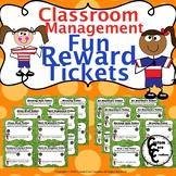 Fun Rewards Tickets Soccer Version (Classroom Management)