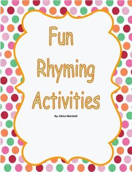 Fun Rhyming Activities