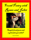 Fun Romeo and Juliet Found Poem Activity!