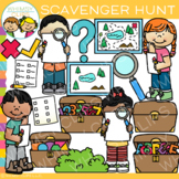 Fun Scavenger Hunt Clip Art