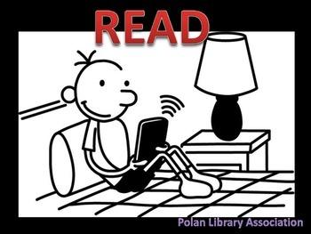 Fun School Library Media Center Posters