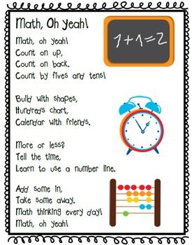 Fun School Poems: Back to School & All Year Through! Gr. K-2