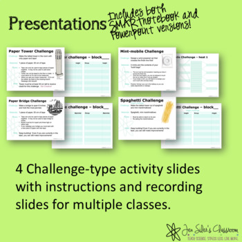 Fun Science Activities - EDITABLE